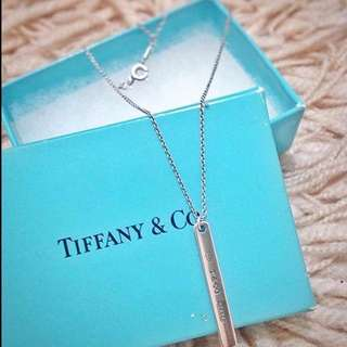 Repriced! Sale!Authentic Tiffany & Co. Bar necklace