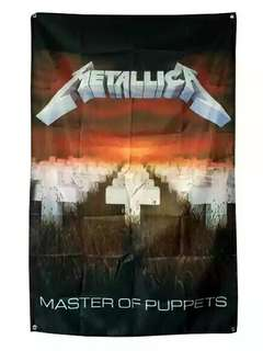 """METALLICA """"MASTER OF PUPPETS """" WALL BANNER HUGE FLAG FABRIC POSTER"""