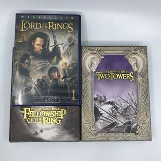 Lord of the Ring Trilogy DVD