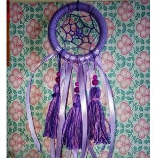 Purple Tassel Dreamcatcher (S)