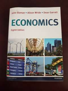 John Sloman Economics Textbook 8th Edition