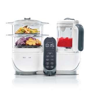 Babymoov Nutribaby+ 蒸煮食物攪拌調理機 - 白色  (6合1功能:暖奶、加熱食物、奶瓶消毒、蒸煮、攪拌及解凍)