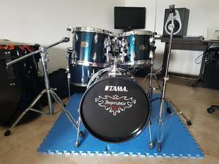 Tama Imperial Star Drum Set (5 pc)Midnight blue