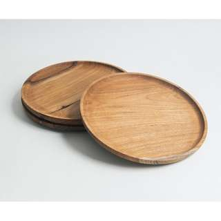 Wooden Round Plate / Tray