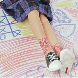 socks (stylish ankle) 捆绑式袜子 ( korean style)