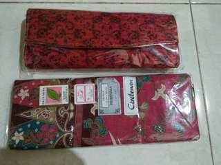 Dompet batik dan kain batik cirebonan