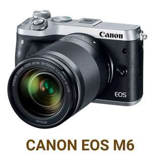 Kredit Kamera Canon EOS M6 acc 3 menit ready HP PS4 PS3 Laptop