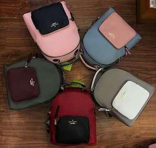 Authentic Kate Spade Mini Bagpack