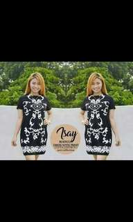 Crepe dress  Free size  Can fit s to m