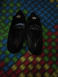 Heels chanel, 5cm, uk 35 muat sampai 37, aslinya bagus