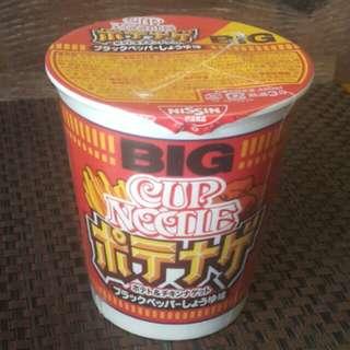 日清薯條麥樂雞風味Big Cup Noodle