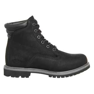 Timberland Waterville 6 inch Boots Black Nubuck