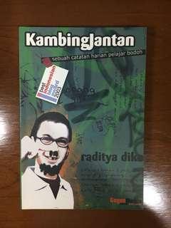 Buku novel kambing jantan