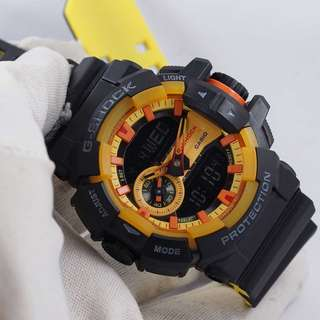 Jam Tangan G-Shock ORI BM GA-400BY-1A Hitam Kuning