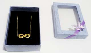 Infinite Gold Plated Necklace