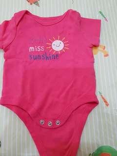 Baju jumper baby girl 0 -3 bulan