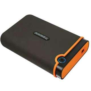 1TB Portable Hard Drive Transcend Storejet 25M2