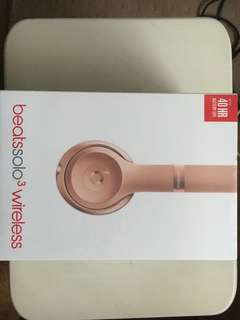 Beats Solo 3 Wireless- Rose Gold