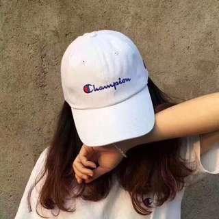 Champion hats - black/white