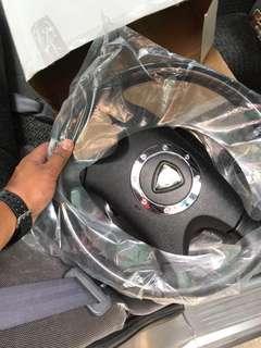 perdana V6 steering