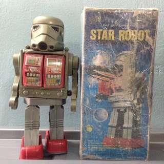 Vintage Star robot