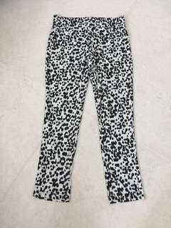 Leopard print ladies pants