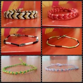 Handmade Friendship Bands