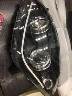 Myvi head lamp projecter light bar