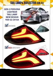 Gen-2/persona tail lamp light bar