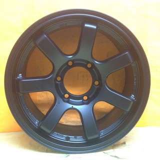 16inch SPORT RIM 4x4 ORIGINAL LENSO RT7 RACING WHEELS