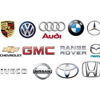 Auto Spare Parts for all kind of Cars (Light Vehicles)