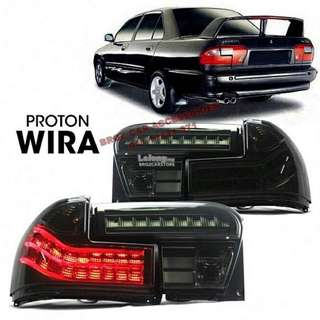 Wira tail lamp led light bar