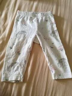 Preloved babyGap baby girl leggings (3-6mths)
