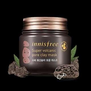Super Volcanic Pore Clay Mask100ml