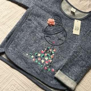NEW GAP UK Sweatshirt Top Size 3Y and 5Y