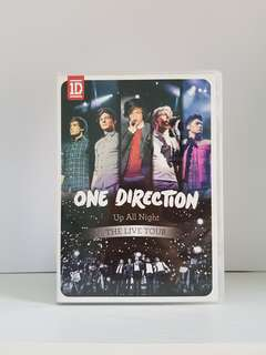 DVD One Direction (1D) Up All Night_THE LIVE TOUR  + DAPAT 2 POSTER 1D EXCLUSIVE M MAGAZINE