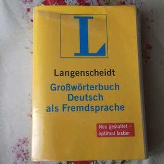 Langenscheidt Kamus Bahasa Jerman