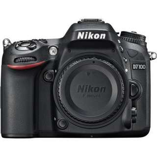 Nikon D7100 Body. Brand New. Last Export set.