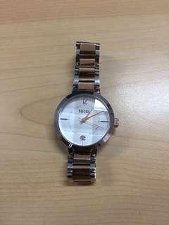 Jual rugi jam tangan fossil