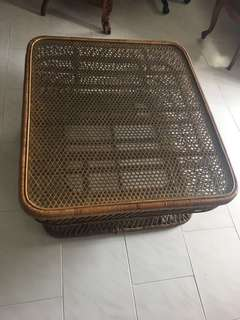 Brunei Antique Large Coffee Table