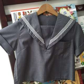 Sailor costume blouse Japanese uniform
