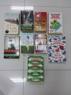 English books - fiction
