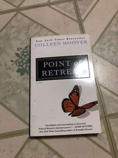 [SIGNED] Point of Retreat by Colleen Hoover