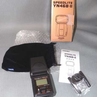YoungNuo YN468-ll Speedlite for Nikon. Brand New.