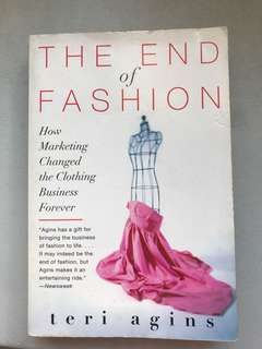 Book: end of fashion