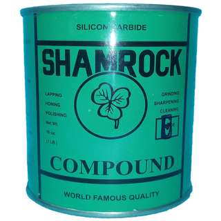 SHAMROCK grinding compound E grit 120 coarse 16oz