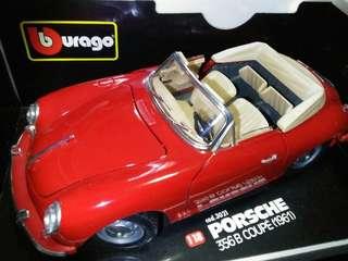 Porsche 356B Coupe 1961 1/18 Burago Diecast