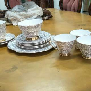English Tea set bone china