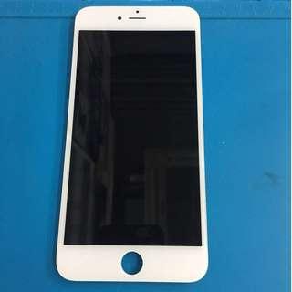 全新原裝Apple iPhone 6 PLUS 5.5寸 白色LCD屏幕港幣490,包安裝,送鋼化全屏藍光保護貼。