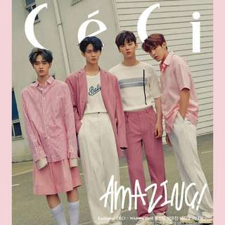 Wanna One CeCi Magazine June Issue Preorder
